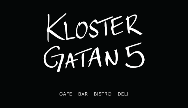 Klostergatanfem, 5, Menu, Cafe, bar, bistro
